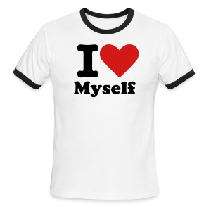 I LOVE Myself - Men's Ringer T-Shirt