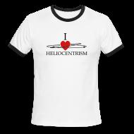 T-Shirts ~ Men's Ringer T-Shirt ~ Heliocentrism for dudes
