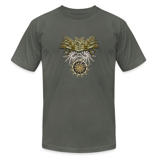 tribal mask 1g - Men's  Jersey T-Shirt