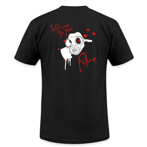 Millions Dead Welcome to your Future tee - Men's Fine Jersey T-Shirt