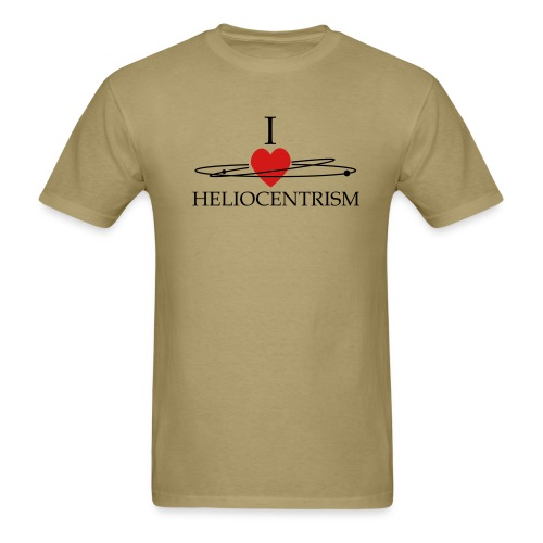 Heliocentrism for everybody  - Men's T-Shirt