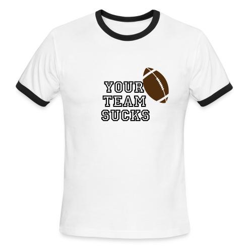 we won - Men's Ringer T-Shirt