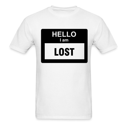 Hello Mens White T-Shirt - Men's T-Shirt