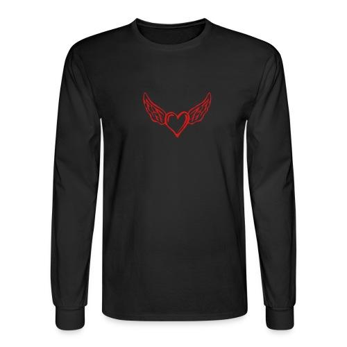 Empty heart needs filled . - Men's Long Sleeve T-Shirt