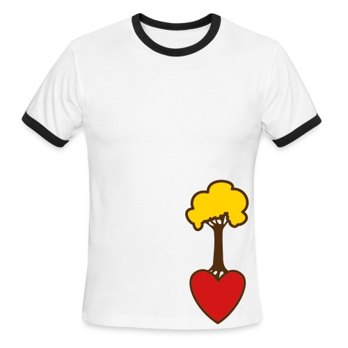Treehugger's Tee. - Men's Ringer T-Shirt