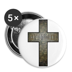 Cottonwood Camo Cross Buttons - Small Buttons