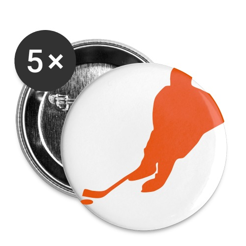 Hockey Pin - Small Buttons