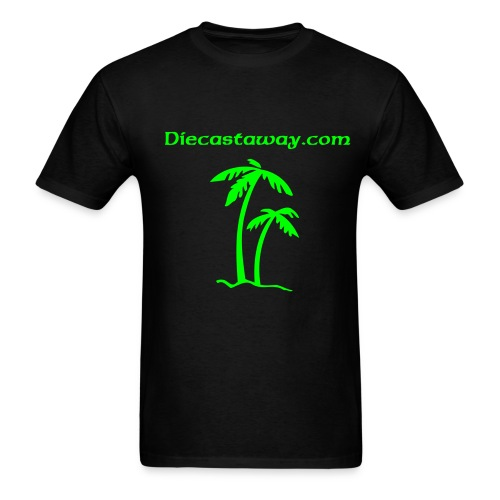 Site Name with an Island feel - Men's T-Shirt