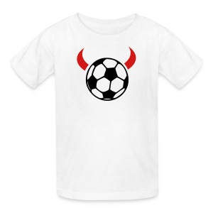 Soccer Devil Kid's Tee - Kids' T-Shirt