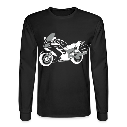 Yamaha FJR1300 (Black) - Men's Long Sleeve T-Shirt
