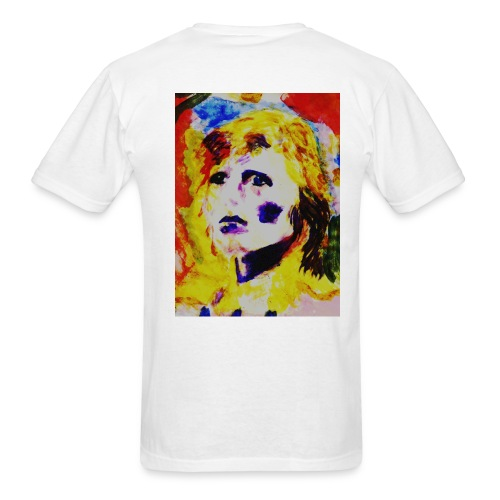 T-Shirt, picture on back - Men's T-Shirt