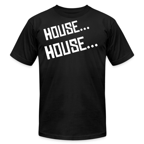 House Lovers Tee - Mens American Apparel  - Men's Fine Jersey T-Shirt