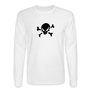 Jolly Roger Long Sleeve Tee - Men's Long Sleeve T-Shirt