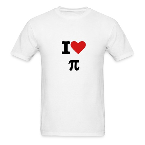 i heart pie - Men's T-Shirt