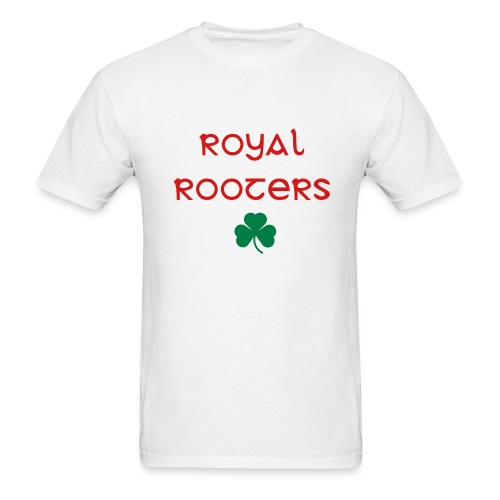 Royal Rooters (white) - Men's T-Shirt