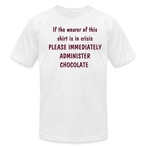 Chocolate Emergency - Men's Fine Jersey T-Shirt