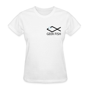 Geek Fish Christian Geek - Women's T-Shirt