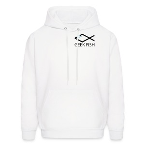 Geek Fish Christian Geek Sweatshirt - Men's Hoodie