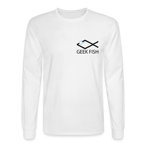 Geek Fish Christian Geek T-shirt - Men's Long Sleeve T-Shirt