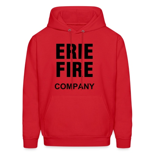 Erie Fire Company - Red - Men's Hoodie