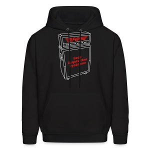 Gear Acquisition Syndrome Guitar Amp - Men's Hoodie