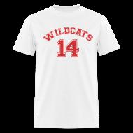 T-Shirts ~ Men's T-Shirt ~ MUSICAL WILDCATS - HIGH SCHOOL COSTUME