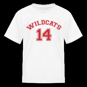 SCHOOL MUSICAL WILDCATS - HIGH SCHOOL COSTUME Kids T-Shirt ~ 0