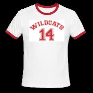 T-Shirts ~ Men's Ringer T-Shirt ~ MUSICAL WILDCATS - HIGH SCHOOL COSTUME