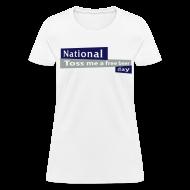 Women's T-Shirts ~ Women's T-Shirt ~ National Toss Me A Free Beer Day