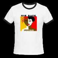 T-Shirts ~ Men's Ringer T-Shirt ~ Anti-Racism T-shirt
