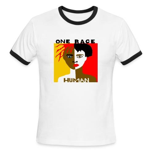 Anti-Racism T-shirt - Men's Ringer T-Shirt