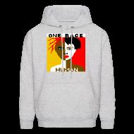 Hoodies ~ Men's Hoodie ~ Anti-Racism Sweatshirt