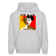 Hoodies ~ Men's Hoodie ~ Anti-Racism Sweatshirt
