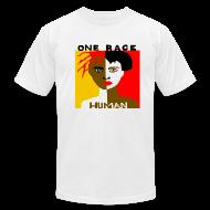 T-Shirts ~ Men's T-Shirt by American Apparel ~ Anti-Racism T-shirt