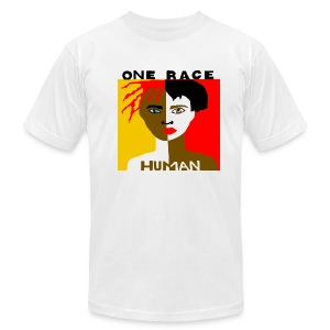 Anti-Racism T-shirt - Men's T-Shirt by American Apparel