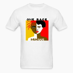 One Race Human Men's T-shirt