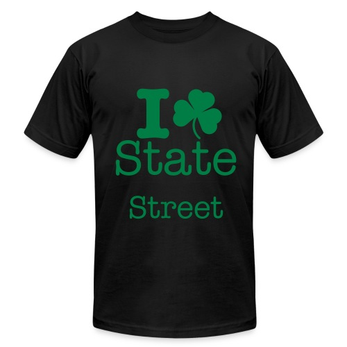St. Patty's Day State Street T-Shirt - Men's Fine Jersey T-Shirt