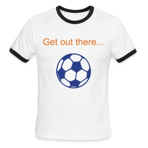 Dragon Soccer T-Shirt - Men's Ringer T-Shirt