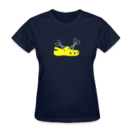 T-Shirts ~ Women's T-Shirt ~ Cuttin' Crocs for Ladies