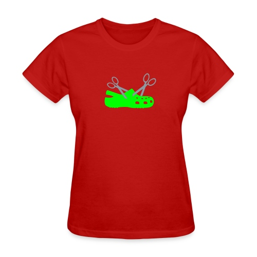 Cuttin' Crocs for Ladies - Women's T-Shirt