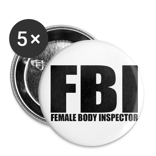 FBI - Buttons small 1'' (5-pack)