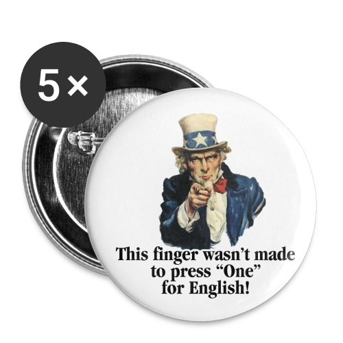 Uncle sam - Buttons small 1'' (5-pack)