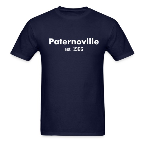 Paternoville--Navy - Men's T-Shirt