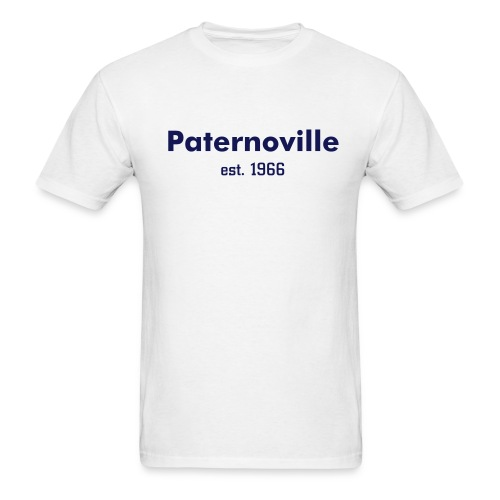 Paternoville--White - Men's T-Shirt