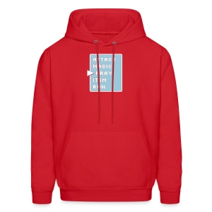 Prayer Action Screen - Men's Hoodie
