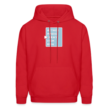 Red Prayer Action Screen Sweatshirt