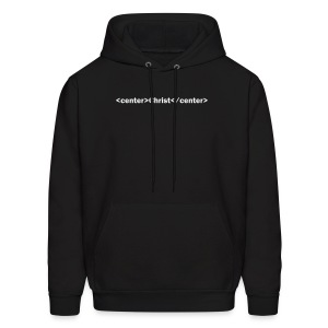 Christ is the Center HTML - Men's Hoodie