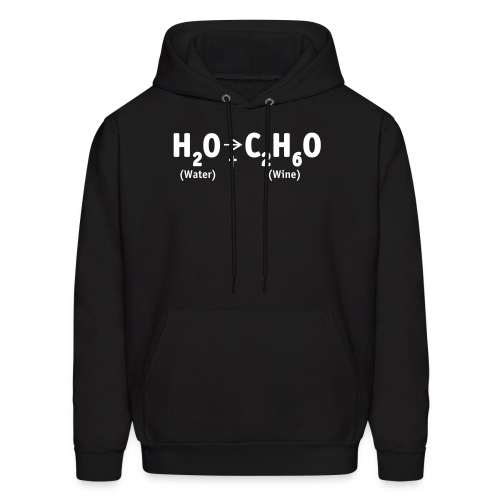 Water Into Wine - Men's Hoodie