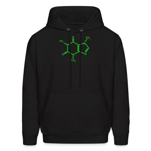 Caffiene Molecule - Men's Hoodie