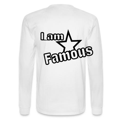 famous ? - Men's Long Sleeve T-Shirt